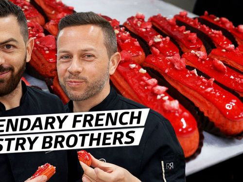 The Secrets Behind the Perfect Eclairs of Lyon's Legendary Pastry Brothers