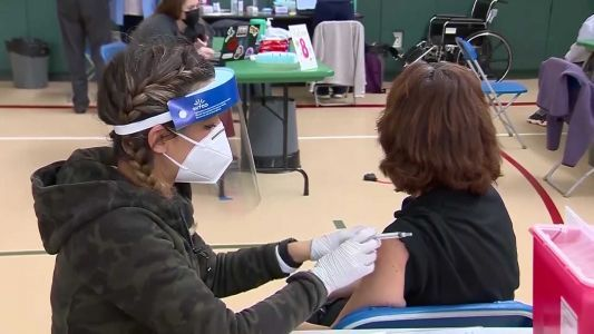 President wants 70% of Americans partially vaccinated by July 4th
