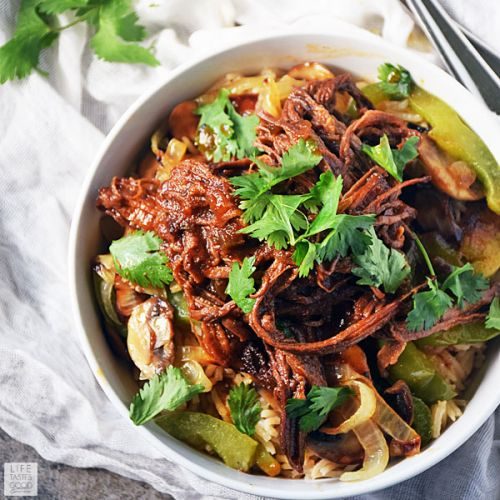 Beef Bowl Recipe with BBQ Brisket