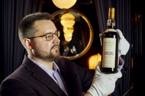 The Macallan 1926 Set for Whisky Auction Record