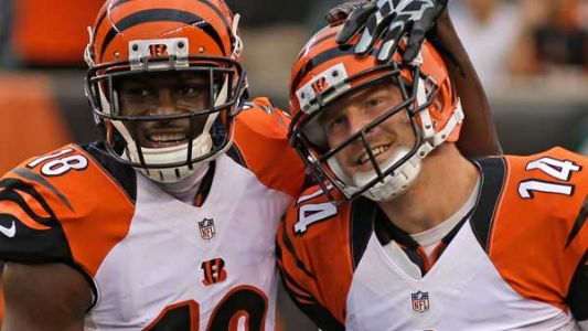 Watch live: Andy Dalton, A.J. Green lead World's Largest Chicken Dance