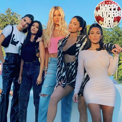 This Year's Kardashian-Jenner Mother's Day Celebrations Are Cozy and Cute - See Photos!