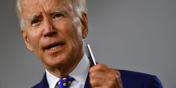 Joe Biden's campaign declared war on Facebook, accusing it of failing to live up to its promises to rein in Trump
