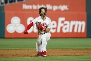 Harper drives in 5 runs, Phillies rally past Dodgers 9-8