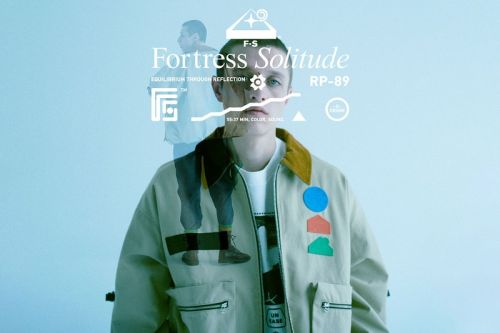 FORTRESS SOLITUDE Remixes Trippy Graphic Prints in Debut SS21 Collection
