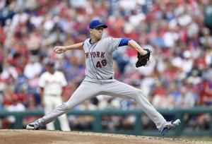 DeGrom goes distance, drops ERA to 1.71, Mets top Phils 3-1