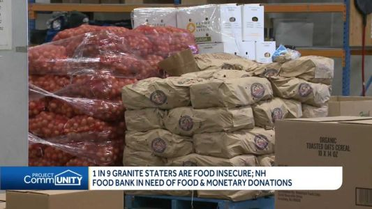 1 in 9 Granite Staters are food insecure; Food Bank needs food, monetary donations