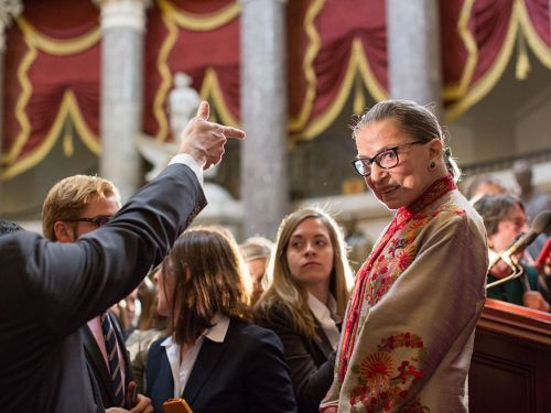 Ruth Bader Ginsburg has been a Supreme Court Justice for 25 years - here's a look at the trailblazer's life and career