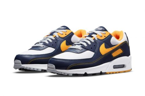 Nike's Air Max 90 Takes On Michigan Wolverines-Esque Color Scheme