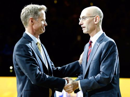 Steve Kerr and Adam Silver both wanted the Warriors to go to the White House for a specific reason - but now it doesn't seem possible