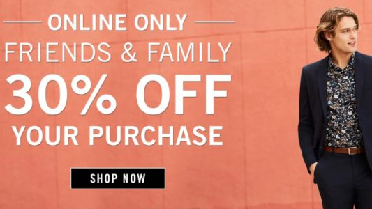 Pick Up New Styles From Perry Ellis' Friends & Family Sale Event, Plus an Extra 10% Off