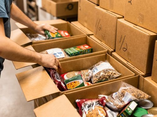 Hunger Rates Drop as People Spend Stimulus Money on Groceries