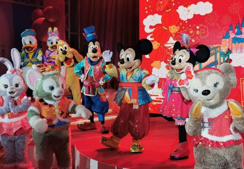 Brands bank on Mickey and friends to drum up sales in Year of the Rat