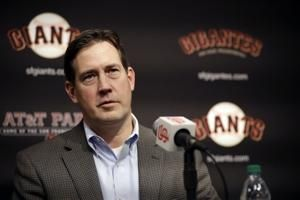 Bobby Evans fired as San Francisco Giants general manager