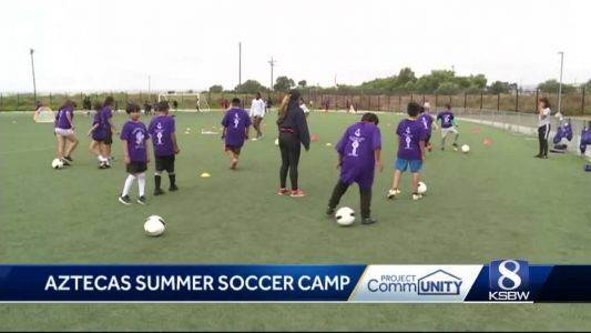 Project CommUNITY: Youth soccer camp inspires children for success
