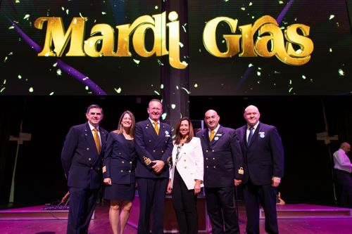 Carnival Cruise Line Welcomes Visitors to See Its New Baby Mardi Gras Ahead of First Voyage on Saturday