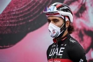 Another rider positive as Giro heads toward uncertain finish