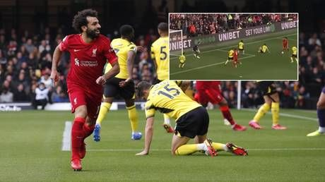 'There are no words': Mo Salah produces RIDICULOUS solo goal AGAIN as fans hail Egyptian as best in world
