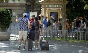 Spain is aiming a record year of tourist arrivals