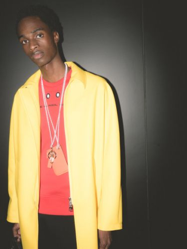 Paintbox brights and flower power rules at Neil Barrett SS19