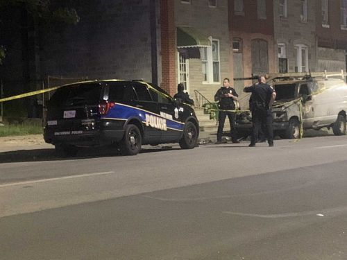 BPD: Police shoot suspect who hit officer with vehicle in east Baltimore