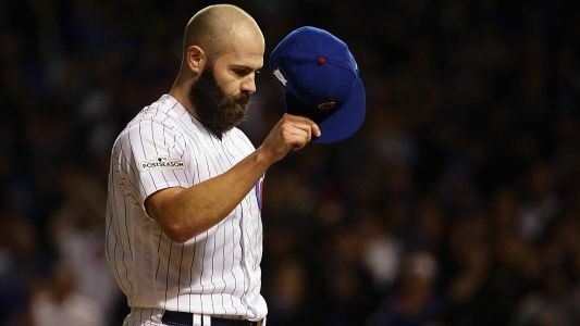 MLB playoffs: Jake Arrieta keeps Cubs alive as his future remains in doubt