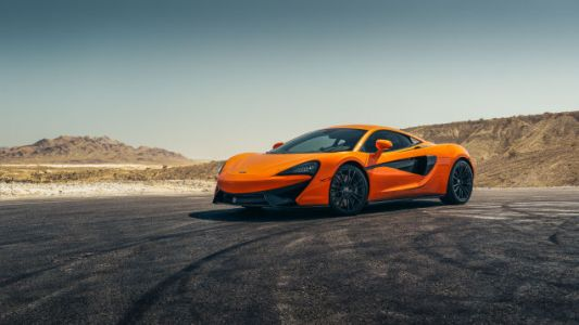 Your Ridiculously Awesome McLaren 570S Wallpapers Are Here