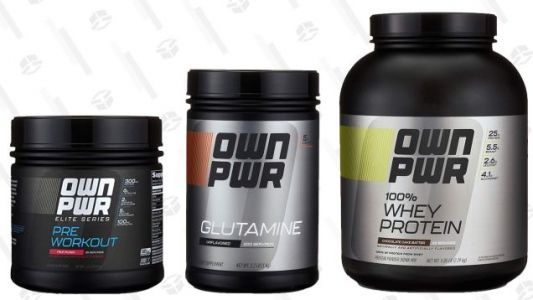 Amazon Makes Its Own Fitness Supplements Now, and You Can Try Them For 15% Off