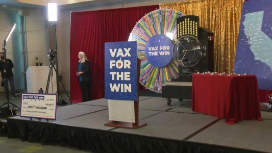 'It's been a rough year' - winner of California vaccine lottery speaks out