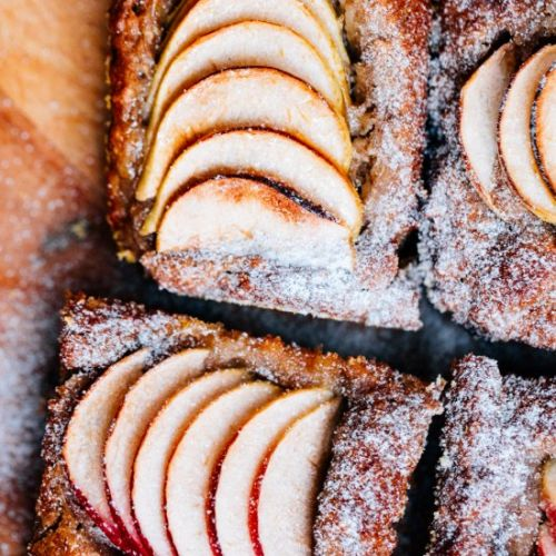 Swedish Apple Cake GF + Vegan