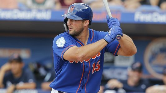 Tim Tebow hits first Triple-A home run with Syracuse Mets