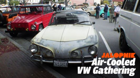 Go Ahead and Laugh at Me Geeking Out at this Air-Cooled Volkswagen Gathering in Monterey