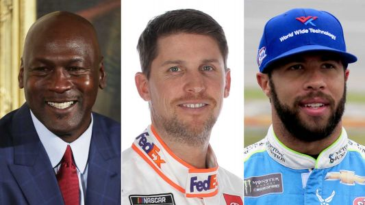 Michael Jordan, Denny Hamlin team up to start NASCAR team, with Bubba Wallace as a driver