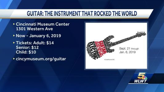 The Instrument that rocked the world is at the Museum Center