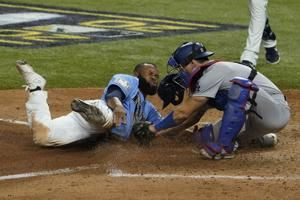Margot out at home, Rays unable to steal Game 5 from Dodgers