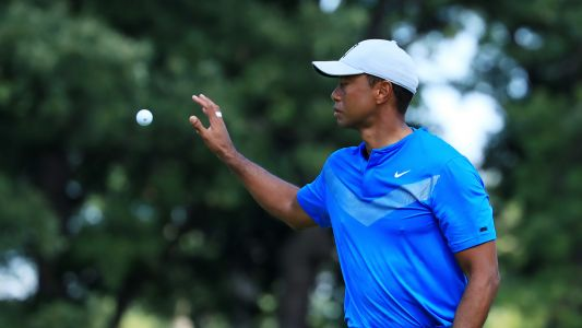 BMW Championship: Tiger Woods sits near bottom of leaderboard after 1-under 71