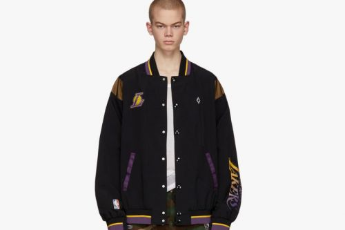 Marcelo Burlon County of Milan Releases a Jacket for Los Angeles Lakers Fans