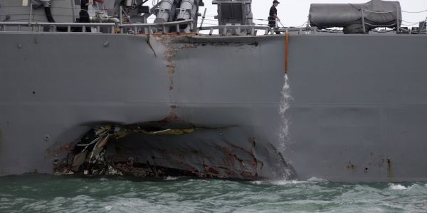 US Navy to file homicide charges against commanders of ships involved in deadly collisions