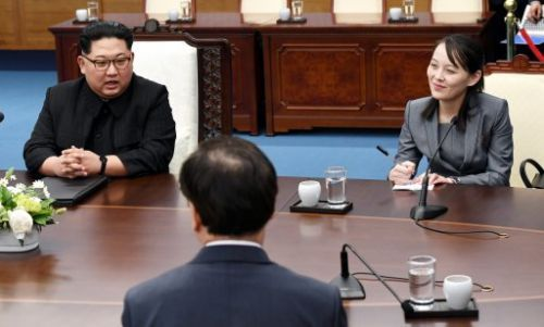 Kim Jong Un's Sister Joins Him for the Landmark Inter-Korean Summit