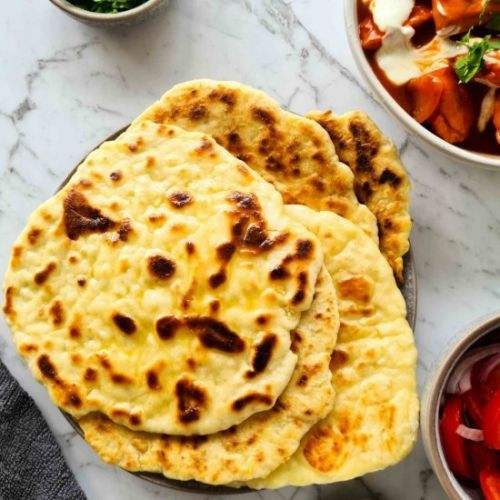 No yeast naan bread