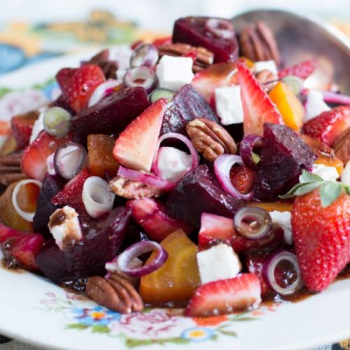 Strawberry and Beet Salad