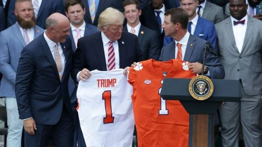 Clemson will eat fast food when team visits White House