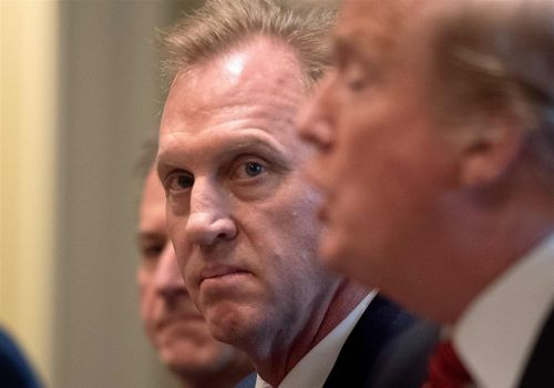Trump says Patrick Shanahan out of confirmation process to be defense secretary