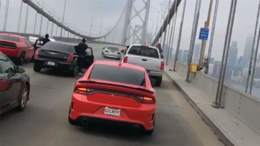 Guess Who Got Arrested This Weekend? The Guy in a Mustang Doing Donuts on the Bay Bridge