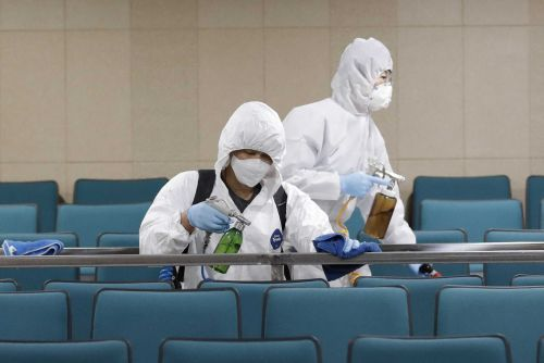 South Korean virus cases jump again, 1st US soldier infected