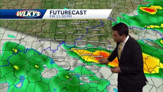 Rain and storm chances return late Friday