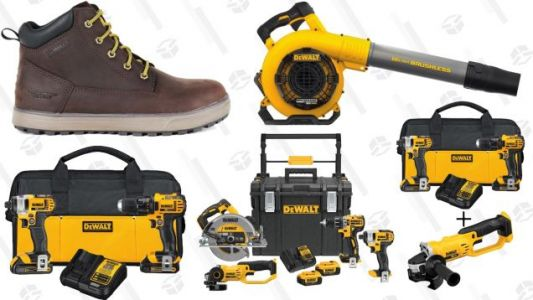 Gear Up For Your Next Home Improvement Project With This One-Day DEWALT Sale