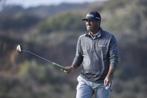Palmer with 62 takes 2-shot lead at Torrey Pines