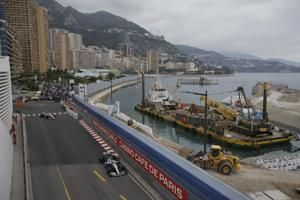 Hamilton on song in Monaco as he tops both practice sessions