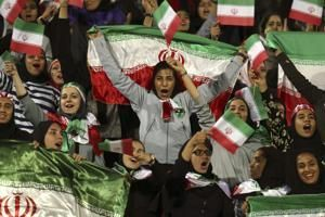 FIFA boss hopeful Iran will lift ban on women soccer fans
